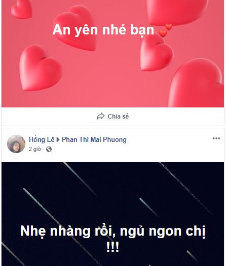 Facebook cố diễn viên Mai Phương bừng sáng lúc nữa đêm vì những lời tiễn biệt của khán giả - Hình 3