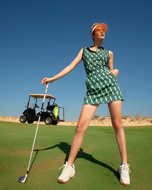 MC Hải Anh, Hà Kino gợi ý trang phục tập golf - Hình 7