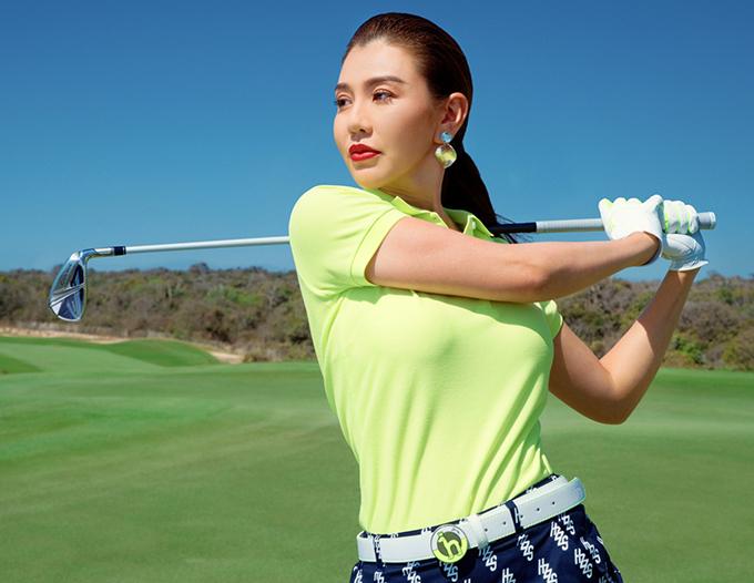 MC Hải Anh, Hà Kino gợi ý trang phục tập golf - Hình 4