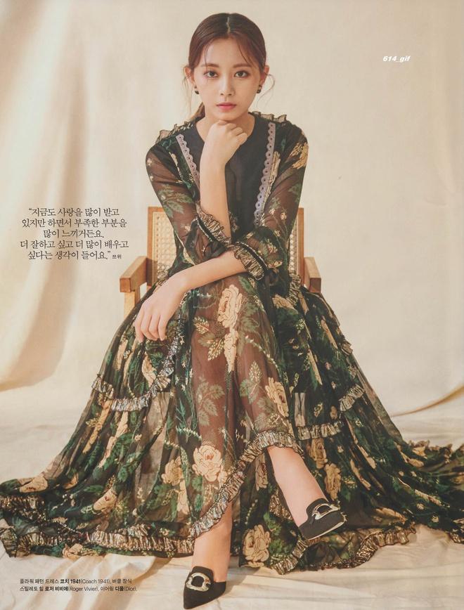 Mỹ nhân TWICE trông như công chúa khi diện váy ôm sát cơ thể - Hình 3
