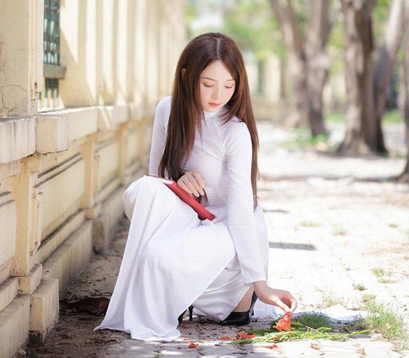 Siêu lòng trước vẻ đẹp băng thanh ngọc khiết của hot girl ảnh thẻ đẹp nhất Việt Nam - Hình 10