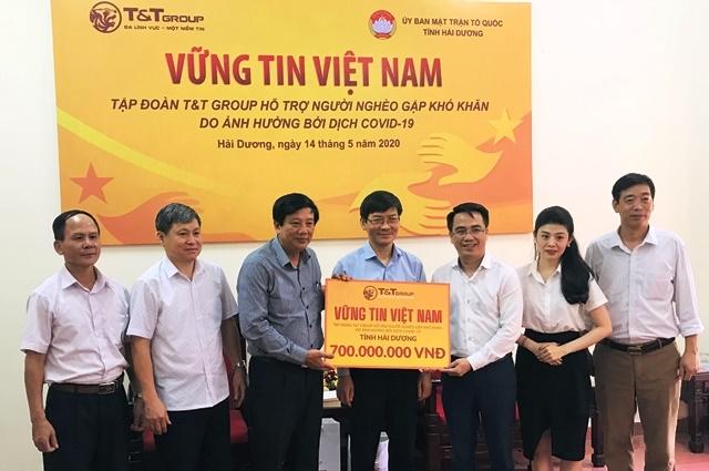 Tập đoàn T&T Group hỗ trợ người dân Hải Dương bị ảnh hưởng dịch - Hình 1