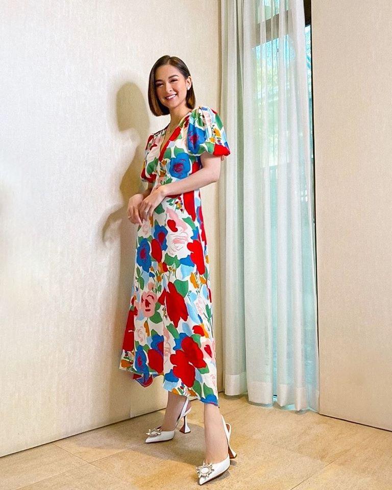 Đẳng cấp bà mẹ đẹp nhất Philippines: Marian Rivera đã U40 vẫn trẻ xinh và lên đồ xinh tươi hết phần thiên hạ - Hình 4
