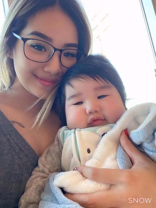 Chân dung con gái danh hài Bảo Chung đang gây sốt với chuyện mang bầu ở tuổi 18, nằm trong số 1% hiếm gặp - Hình 6