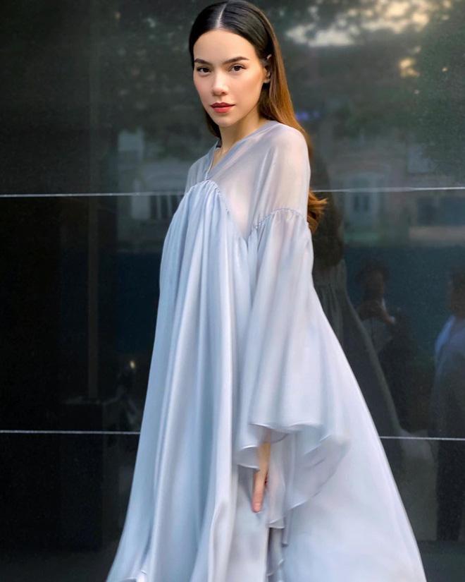May váy rộng khiến Hà Hồ vướng tin đồn bầu bí - Hình 3