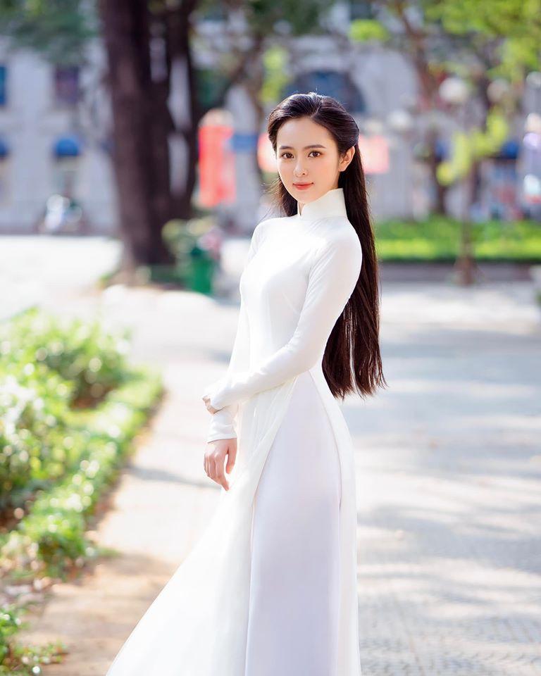 Nữ sinh có tên lạ Trịnh Thị Ái Phi đẹp tinh khôi với áo dài trắng - Hình 7
