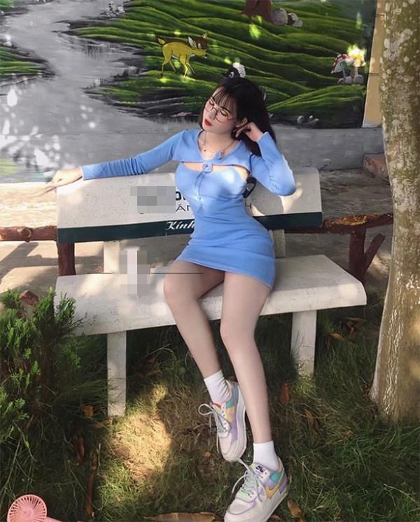 Đeo kính cận dễ thương, hotgirl từng giả làm xe ôm công nghệ vẫn có ba vòng đẹp mướt mắt - Hình 9