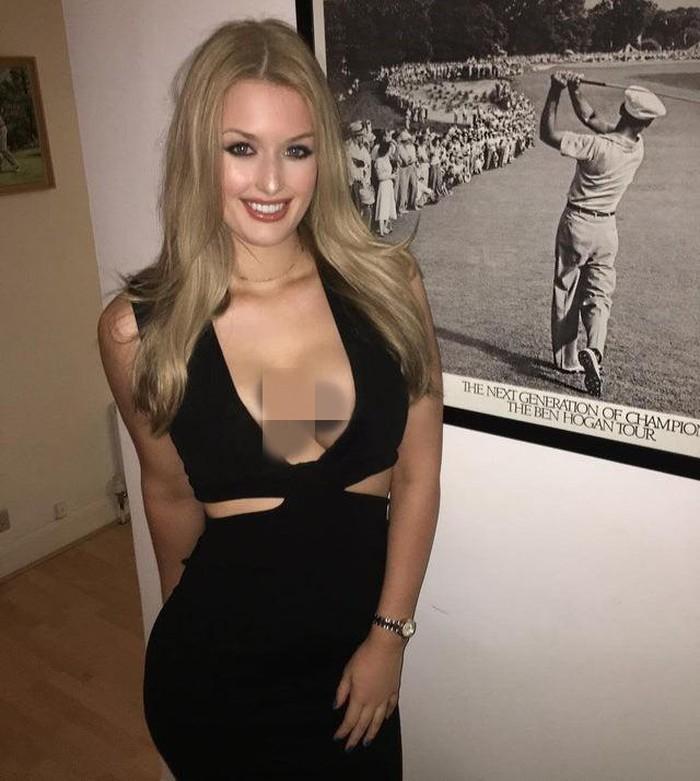 Choáng với cách ăn mặc hở bạo của nữ golf thủ xinh đẹp người Anh - Hình 11