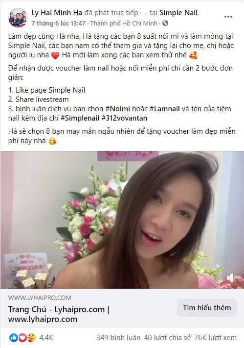 Lần đầu bật mí tiệm nail ruột của hot mom 4 con Minh Hà và nhiều người đẹp, người mẫu, hot girl Sài Thành - Hình 1