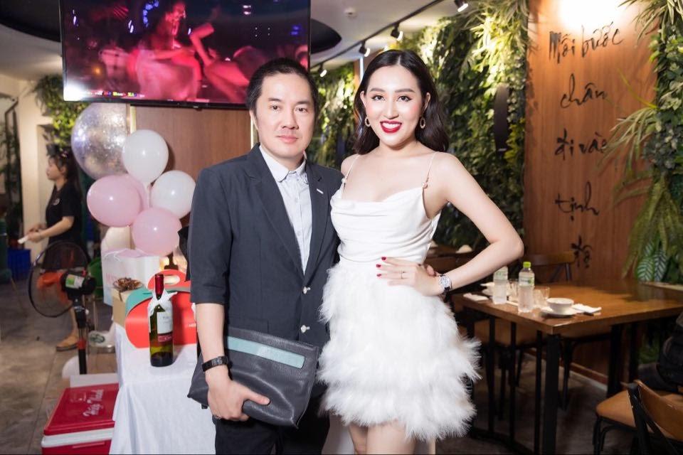 Dàn hoa hậu hội ngộ, khoe nhan sắc rạng rỡ mừng sinh nhật hoa hậu Huỳnh Thúy Anh - Hình 9
