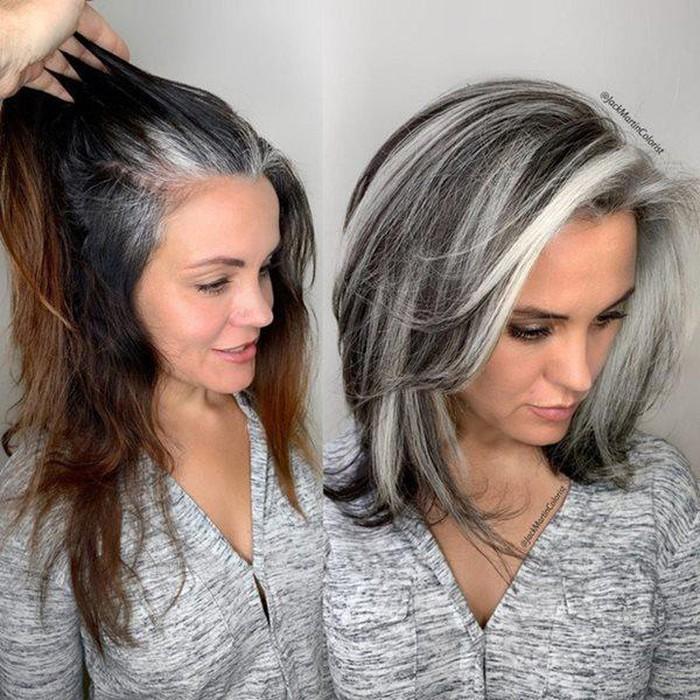 Thợ tóc làm điều ngược đời, tuy nhiên khi nhìn sản phẩm ai cũng phải thốt lên đẹp quá - Hình 4