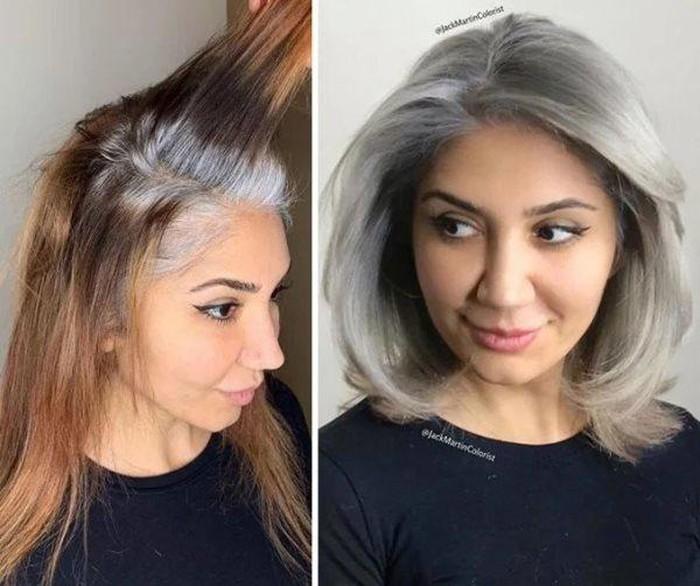 Thợ tóc làm điều ngược đời, tuy nhiên khi nhìn sản phẩm ai cũng phải thốt lên đẹp quá - Hình 5