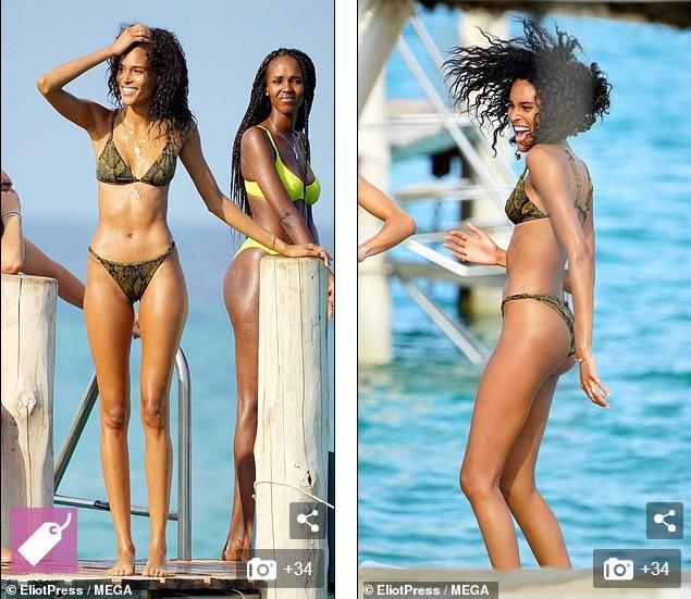 Cindy Bruna 'thả dáng' nuột, khoe chân dài cực phẩm với bikini - Hình 6