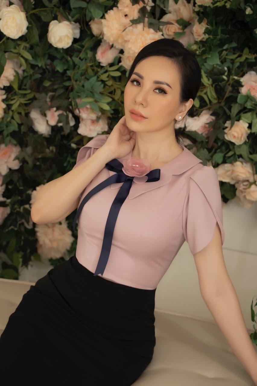 Ngắm loạt ảnh xinh đẹp tựa quý cô Paris của Hoa hậu Châu Ngọc Bích - Hình 9
