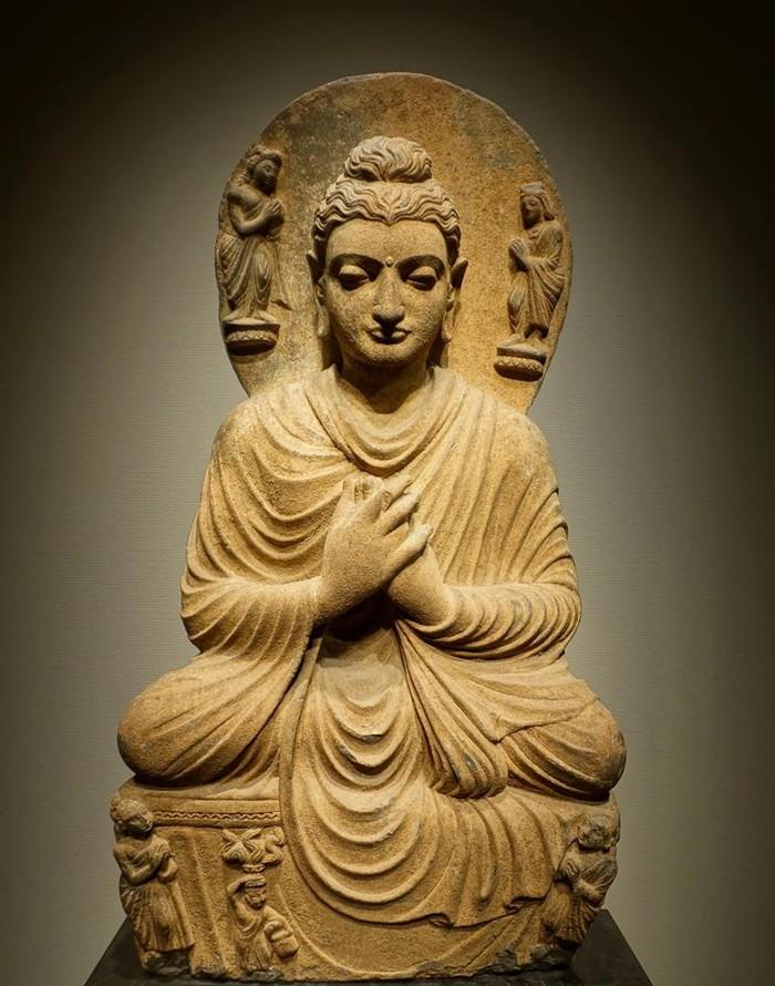 Mộttượng Phậtniên đại1.700 năm bị  phá hủy