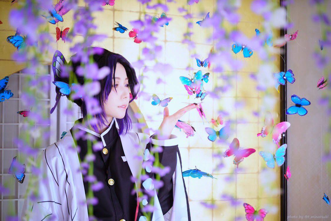 Ngắm loạt ảnh cosplay đẹp mắt của nữ thần 18 Yui Hatano vào vai Trùng Trụ trong Kimetsu no Yaiba - Hình 2