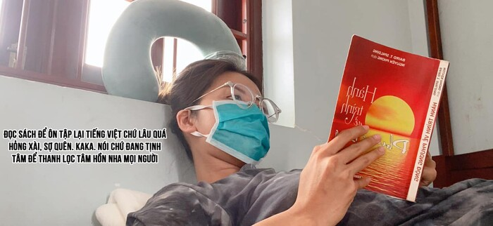 Hậu bị xuyên tạc chia sẻ, Minh Tú tung Nhật ký Dưỡng Tâm Trại chia sẻ về cuộc sống cách ly - Hình 5