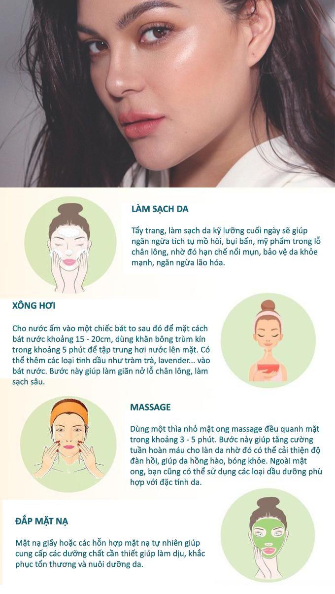 4 bước thư giãn làn da, cơ mặt cuối ngày - Hình 1