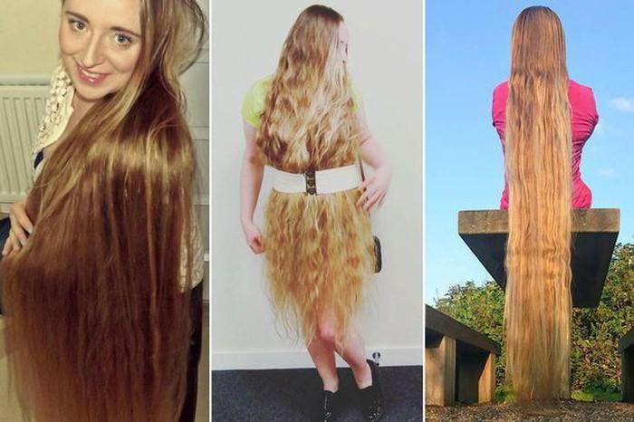 Bí quyết chăm sóc mái tóc dài 1m6 của gái xinh Ba Lan - Hình 2