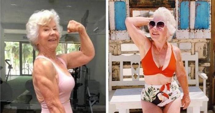 Ở tuổi U70, cụ bà sở hữu cơ bắp cuồn cuộn nhờ điều này - Hình 6