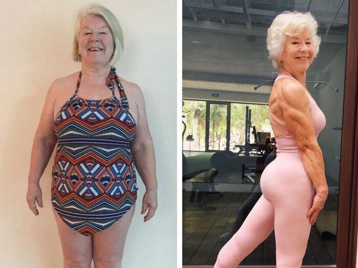 Ở tuổi U70, cụ bà sở hữu cơ bắp cuồn cuộn nhờ điều này - Hình 3