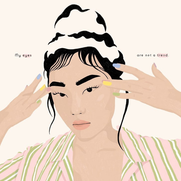 Tại sao người Mỹ gốc Á phẫn nộ với trào lưu trang điểm mắt cáo? - Hình 3