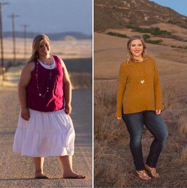 Cô gái giảm gần 60 kg một năm nhờ duy trì 5 thói quen - Hình 2