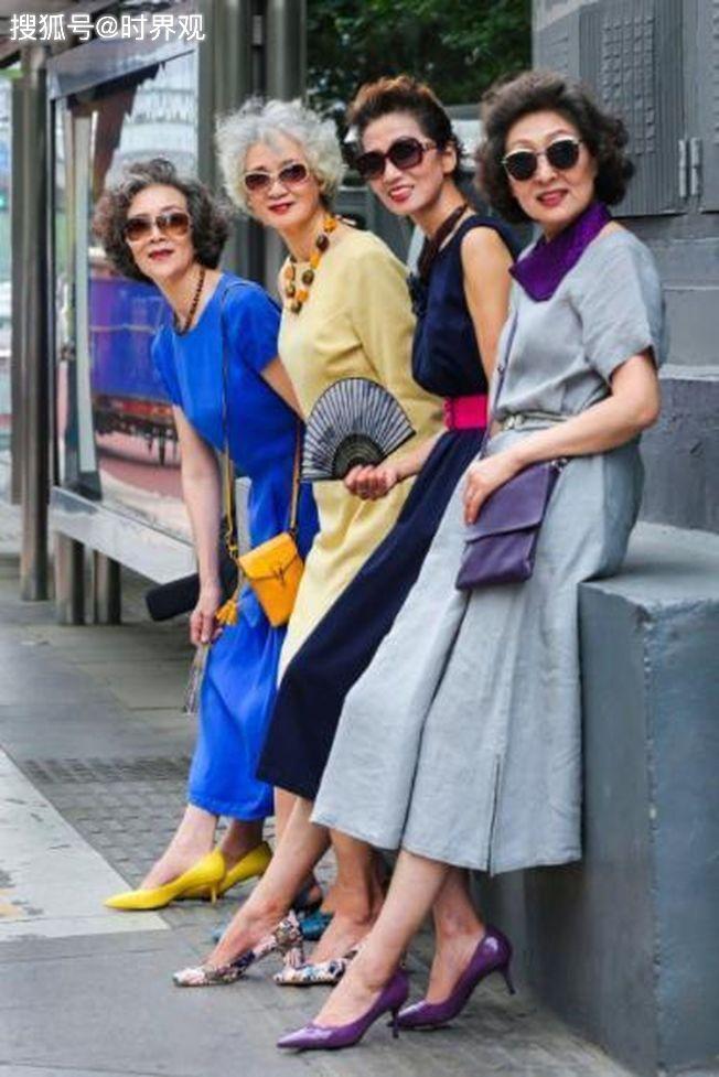 4 cụ bà Trung Quốc nổi tiếng với gu thời trang sành điệu - Hình 14