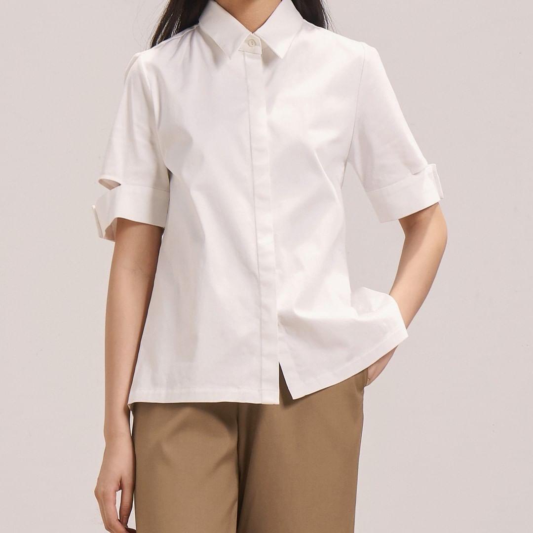 12 thiết kế sơ mi chuẩn đẹp đúng style Hàn Quốc, ưng nhất là giá chưa đến 600k - Hình 15
