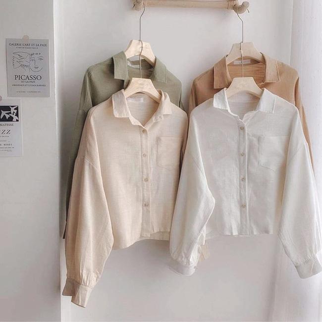 12 thiết kế sơ mi chuẩn đẹp đúng style Hàn Quốc, ưng nhất là giá chưa đến 600k - Hình 4
