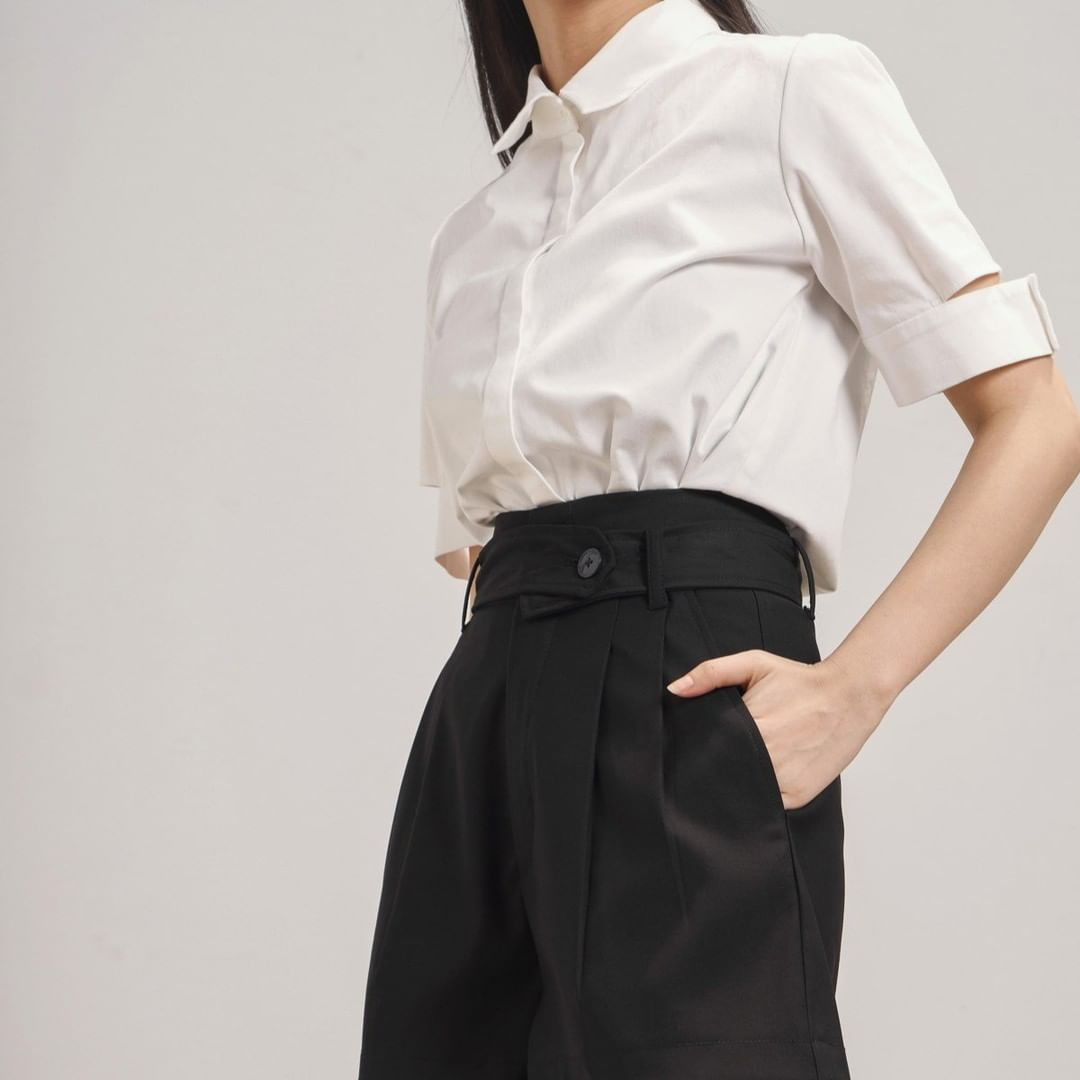 12 thiết kế sơ mi chuẩn đẹp đúng style Hàn Quốc, ưng nhất là giá chưa đến 600k - Hình 14