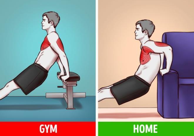 Ngại đến phòng gym mùa COVID, có 6 bài tập với đồ vật trong nhà giúp bạn đốt mỡ - Hình 3