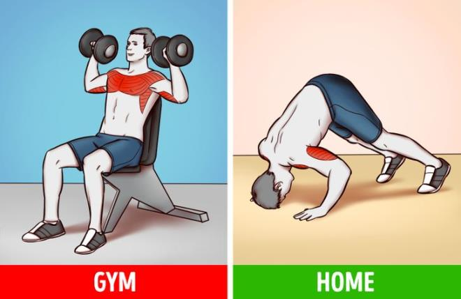 Ngại đến phòng gym mùa COVID, có 6 bài tập với đồ vật trong nhà giúp bạn đốt mỡ - Hình 5
