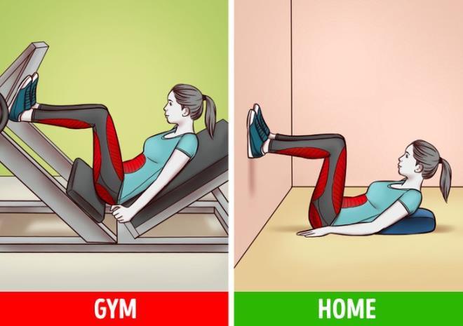 Ngại đến phòng gym mùa COVID, có 6 bài tập với đồ vật trong nhà giúp bạn đốt mỡ - Hình 2