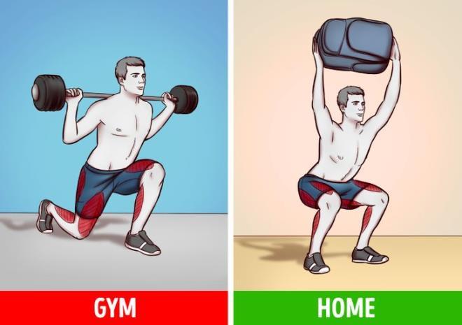Ngại đến phòng gym mùa COVID, có 6 bài tập với đồ vật trong nhà giúp bạn đốt mỡ - Hình 1