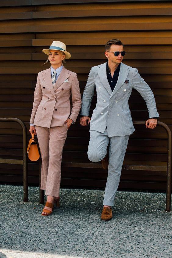 Bí quyết mặc đồ đôi thanh lịch, siêu ngọt ngào - Hình 10