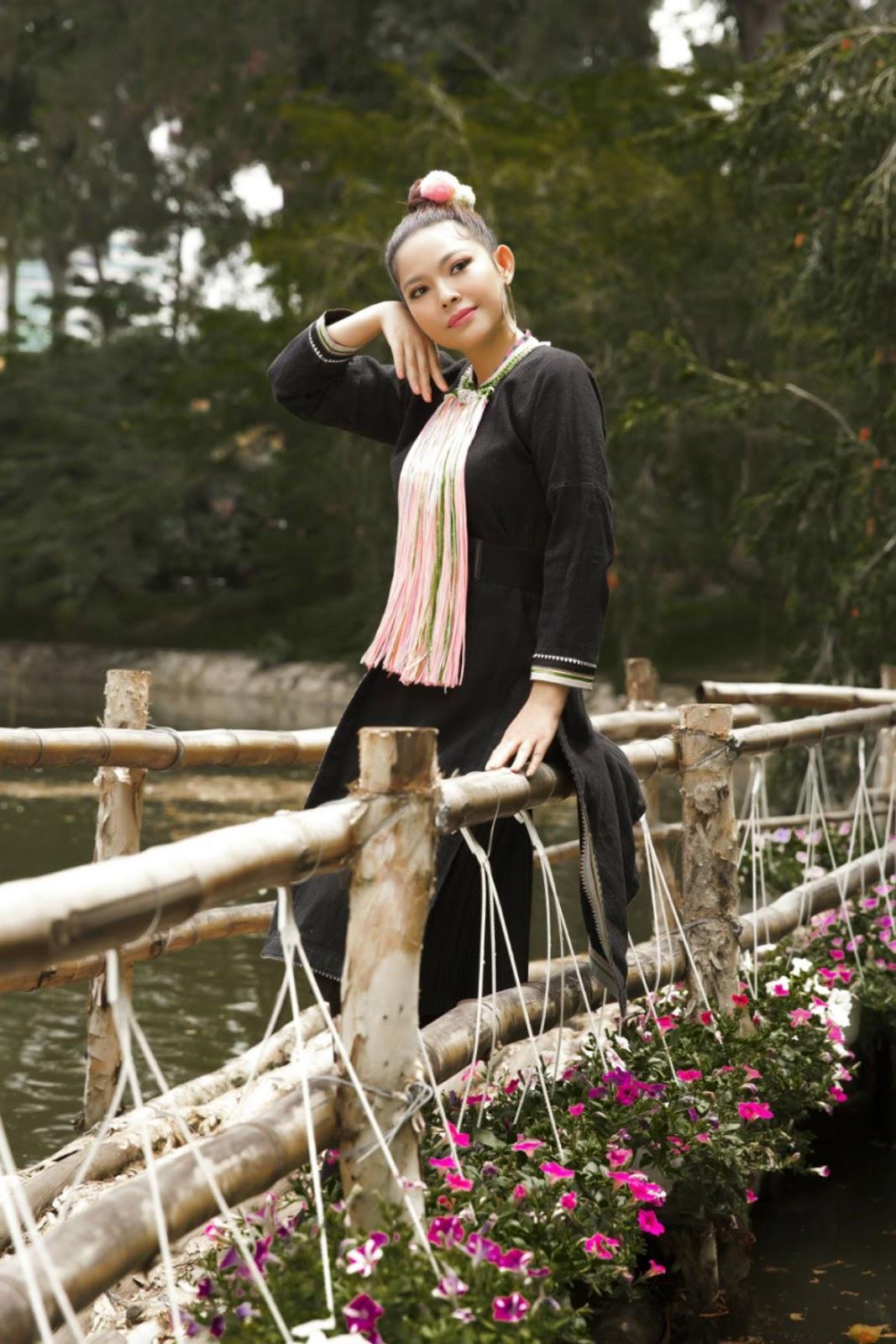 Kim Thanh Thảo đẹp thanh thoát khi hoá thân vào cô gái núi rừng Tây Bắc - Hình 9