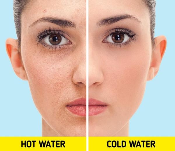 Điều gì xảy ra với làn da khi tắm nước lạnh thường xuyên? - Hình 1