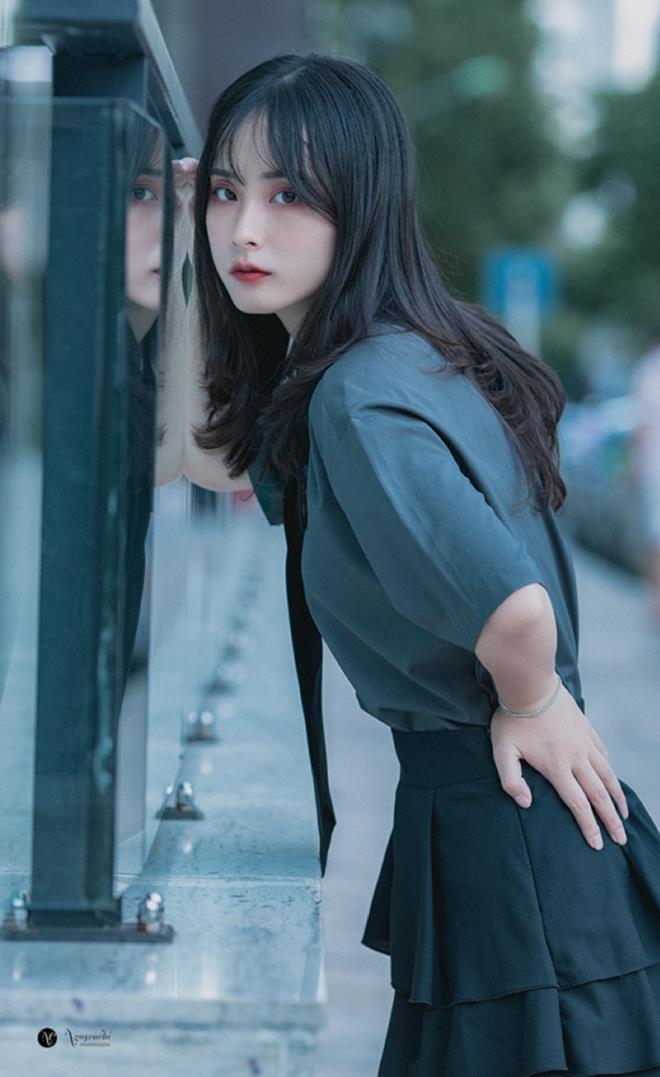 Thiếu nữ Hà thành xinh như búp bê, hút mọi ánh nhìn - Hình 8