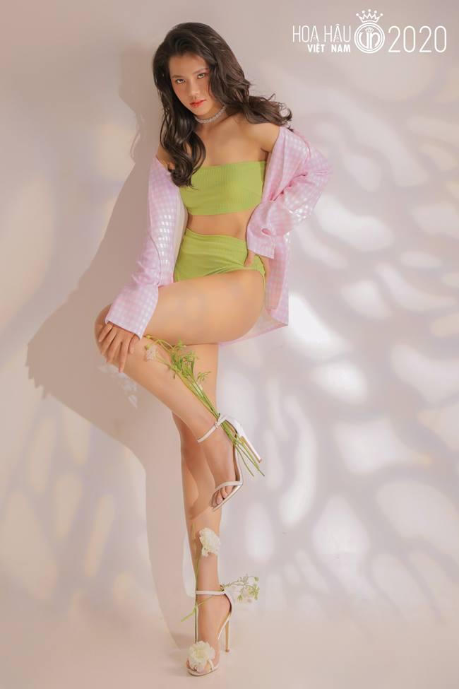 Nhan sắc băng thanh ngọc khiết, mặt búp bê xinh hút hồn của thí sinh hoa hậu VN - Hình 12