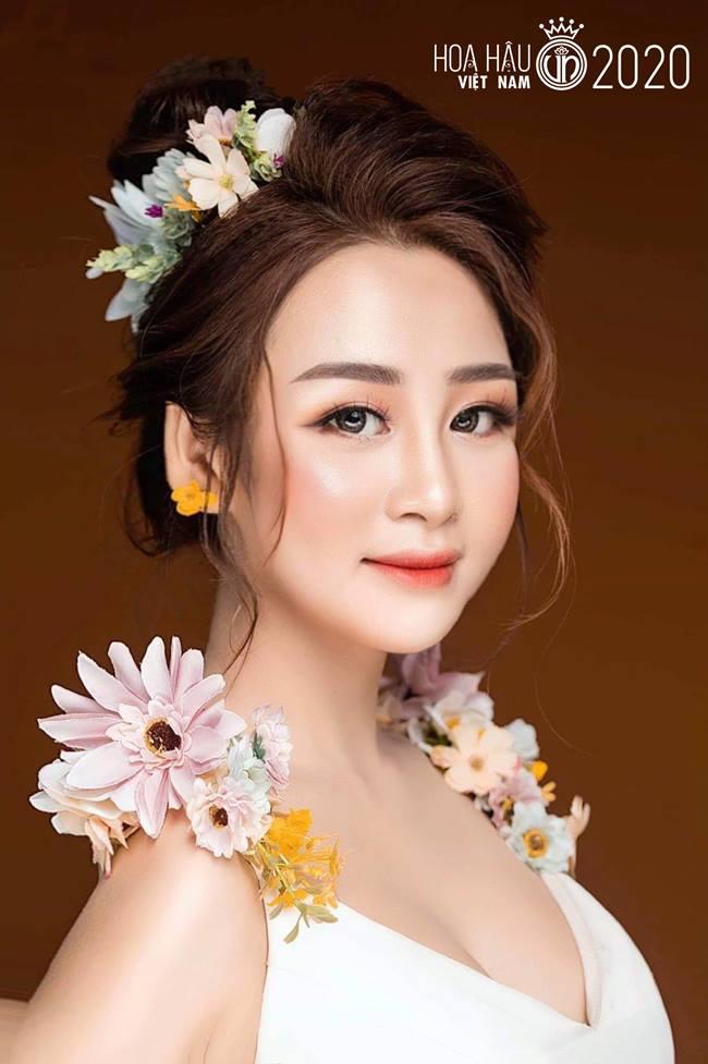Nhan sắc băng thanh ngọc khiết, mặt búp bê xinh hút hồn của thí sinh hoa hậu VN - Hình 16