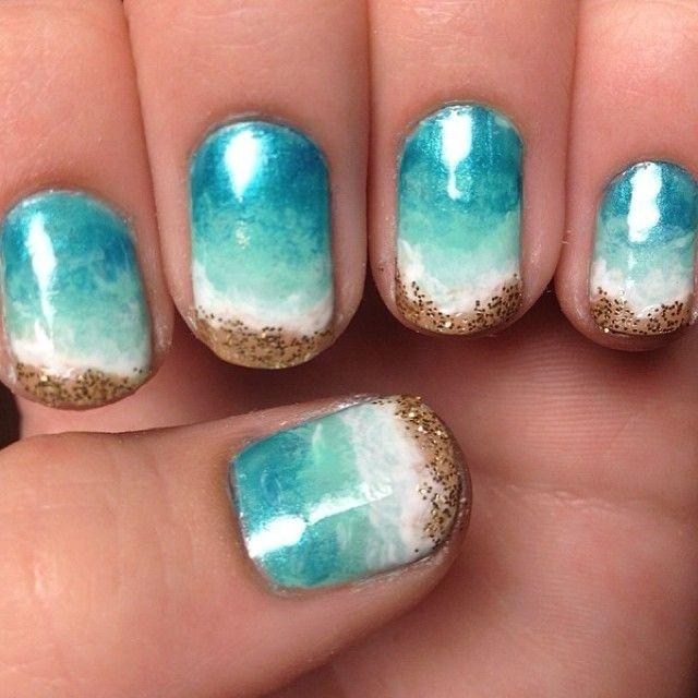 Các mẫu nail ''biển gọi'' dành riêng cho mùa hè sôi động và nóng bỏng - Hình 4