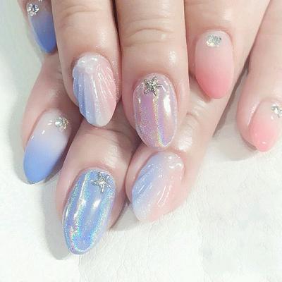 Các mẫu nail ''biển gọi'' dành riêng cho mùa hè sôi động và nóng bỏng - Hình 2