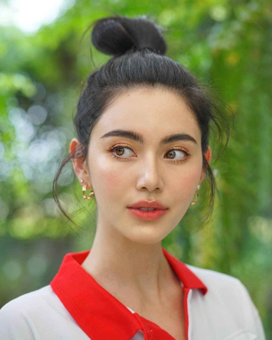 Học sao Hàn chán chê rồi, chị em nên học các mỹ nhân Thái 6 kiểu tóc tuyệt xinh này - Hình 7