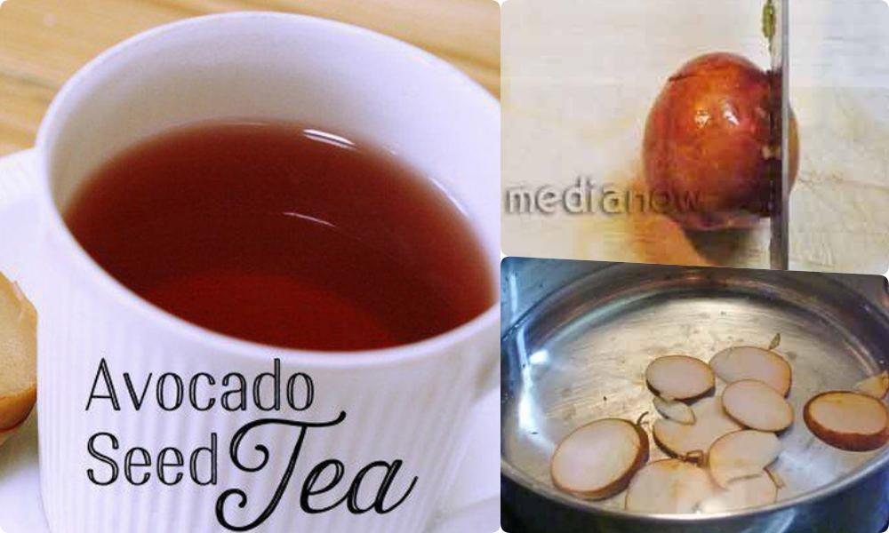 70% công dụng giảm nếp nhăn, diệt mỡ bụng của quả bơ là ở phần hạt, vậy nên người Nhật toàn tự làm và uống trà hạt bơ vào buổi sáng - Hình 8