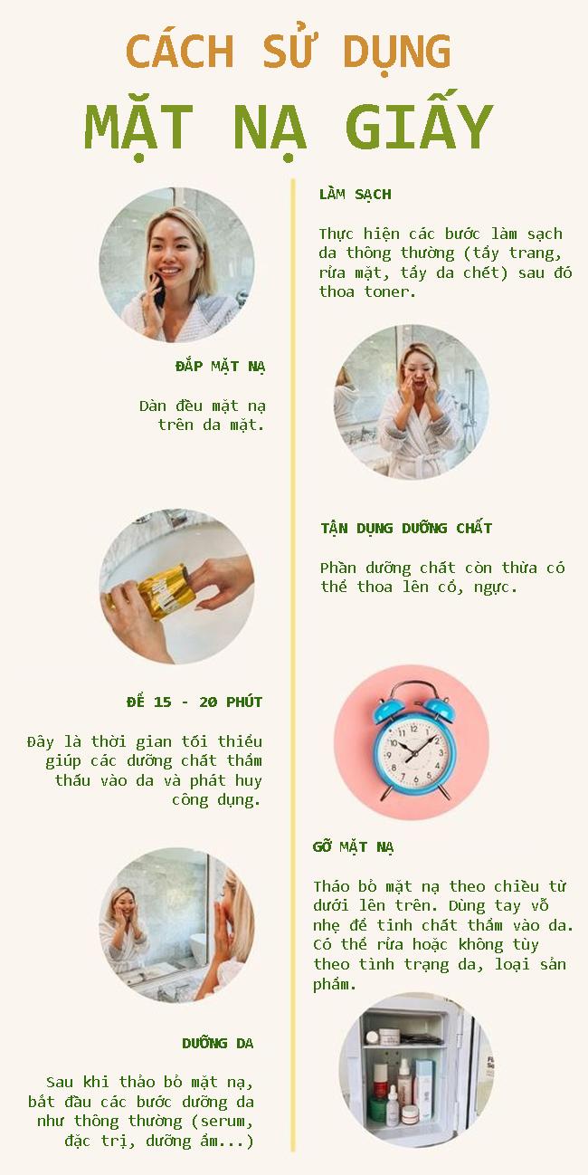 Cách đắp mặt nạ giấy chuẩn chỉnh - Hình 1
