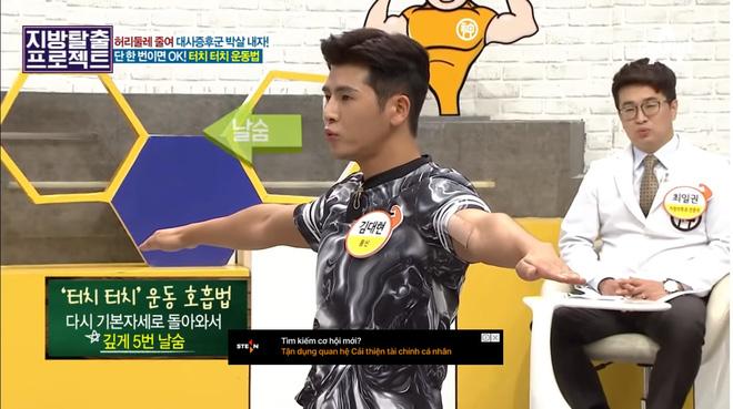 HLV Hàn Quốc hướng dẫn bài tập giúp giảm 5cm mỡ bụng chỉ sau 5 phút tập luyện - Hình 10