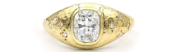Kim cương đen: Chiếc nhẫn cầu hôn với biểu tượng của sự hòa hợp - Hình 8