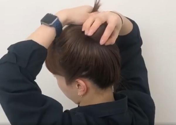 Cách búi tóc cao đẹp hoàn hảo, nhanh gọn chỉ mất 3 phút ai cũng làm được - Hình 2