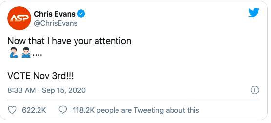 Captain Chris Evans trả lời ngắn mà cực khéo về vụ lộ ảnh 18 chấn động thế giới, khiến dàn sao Hollywood thích thú - Hình 3